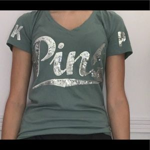 Green Tshirt from PINK